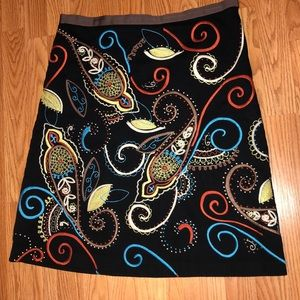 Boden Embroidered Skirt size 14